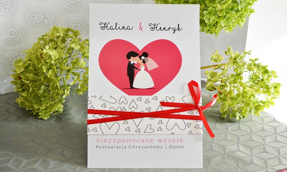 Ti Amo Zaproszenia ślubne U Nas Znajdziesz Piękne Zaproszenia Na